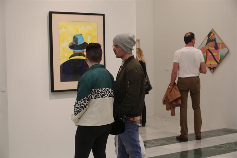 Estils diferents. La mostra ofereix la possibilitat de veure algunes de les grans obres dels anys 60 i 70. - GABRIEL UTIEL
