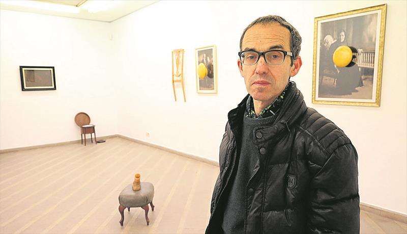 Proposta. La mostra proposa un viatge a la vida de l'artista a través del temps i els seus records familiars. - GABRIEL UTIEL